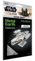 Metal Earth Premium Series Razor Crest Model Kit   Buy now at The G33Kery - UK Stock - Fast Delivery